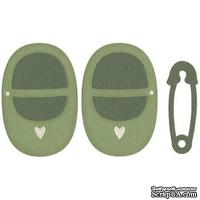 Лезвие Lifestyle Crafts - QuicKutz - baby shoes & pin