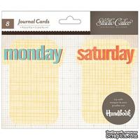 Карточки для журналинга Studio Calico - Snippets Journal Cards - Weekdays
