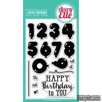 Акриловый штамп Avery Elle - Numbered Balloons Clear Stamps