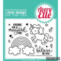 Акриловый штамп Avery Elle - Be A Unicorn Clear Stamps