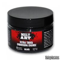 Эмаль Ranger Melt Art - UTEE Black 60 g 3 oz, цвет черный - ScrapUA.com