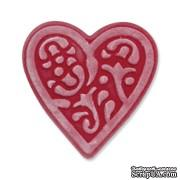 Лезвие Sizzix Embosslits Die - Heart, Lace by Scrappy Cat, 1 шт.