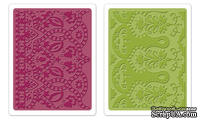 Набор папок для тиснения Sizzix - Textured Impressions Embossing Folders 2PK - Moroccan Daydreams Set, 2 шт.