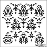 Маска The Crafter's Workshop - Mini Template Damask, 15х15 см