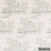 Ткань Tilda - Seaside Life China Greygreen 100 % хлопок, 50х55 см