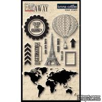 Акриловые штампы Teresa Collins Far & Away - Clear Acrylic Stamps, 15 шт.