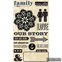 Акриловый штамп Teresa Collins Designs - Family Stories - Stamps