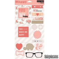 Набор наклеек Teresa Collins Designs - You Are My Happy - Chipboard Elements
