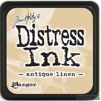 Штемпельная подушка Ranger - Distress Mini Ink Pad - Antique Linen - ScrapUA.com