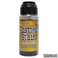 Краска Ranger Distress Stains - Crushed Olive, 29 мл