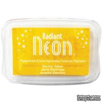 Чернила Tsukineko Radiant Neon Ink Pad - Electric Yellow