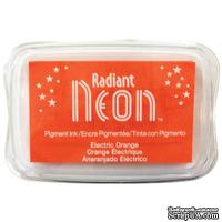 Чернила Tsukineko Radiant Neon Ink Pad - Electric Orange