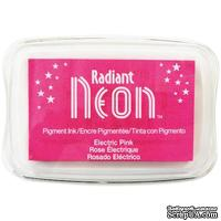 Чернила Tsukineko Radiant Neon Ink Pad - Electric Pink