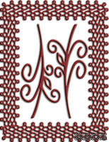 Рамка Japanese Lace and Flourish  от Cheery Lynn Designs