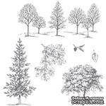Набор резиновых штампов от Stampin'Up - Lovely As A Tree Clear-Mount Stamp Set