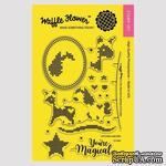 Силиконовый штамп от Waffle Flower - Stitched Unicorn Stamp Set