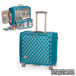 Сумка на колесиках Trolley Bag – Aqua от We R Memory Keepers - ScrapUA.com
