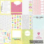 Лист бумаги от Lemon Owl, коллекция - Around the Corner, Mini cards RU - ScrapUA.com