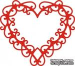 Лезвие Celtic Heart от Cheery Lynn Designs