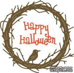 Ножи от Cheery Lynn Designs -Happy Halloween Twiggy Wreath