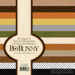 Набор бумаги BoBunny -Double Dot Natural Necessities, 15х15 см, 36 листов