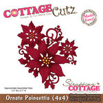 Лезвие CottageCutz Ornate Poinsettia, 10х10 см