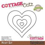 Лезвие CottageCutz - Heart Set