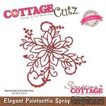 Лезвие CottageCutz Elegant Poinsettia Spray (Elites) - ScrapUA.com