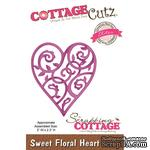Лезвие CottageCutz - Sweet Floral Heart (Elites)