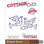 Лезвие CottageCutz - Elites Die - Elegant Doves