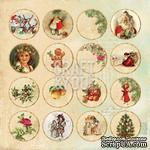 Лист высечек от Craft and You Design - Christmas Story,  30х30 см, CP-CS09 - ScrapUA.com