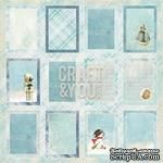 Лист скрапбумаги c картинками от Craft and You Design - Frozen Paper,  30х30 см, CP-FP07 - ScrapUA.com