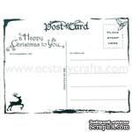 Акриловый штамп Marianne Design - Clear stamp - Christmas postcard