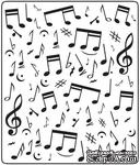 Папка для тиснения Crafts Too Embossing Folder - Music Notes - ScrapUA.com