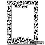 Папка для тиснения Crafts Too Embossing Folder - Poinsettia Frame