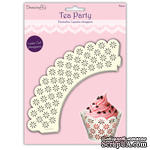 Обертки - ea Party Cupcake Wrappers - Floral, 12 шт
