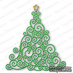 Нож от Impression Obsession - Swirly Christmas Tree
