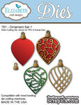 Нож  от   Elizabeth  Craft  Designs  -  NEW  ORNAMENT  SET,  5  элементов. - ScrapUA.com