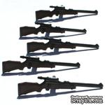 Набор брадсов Eyelet Outlet - Rifle Brads, 12 штук - ScrapUA.com