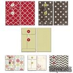 Набор конвертов Fancy Pants - Merry little Christmas Patterned Envelopes - ScrapUA.com