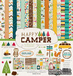 Набор бумаги от Echo Park - Happy Camper Collection Kit