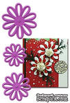Набор лезвий  Joy! Crafts Cutting & Embossing Dies - 3 Daisies - ScrapUA.com