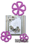 Набор лезвий  Joy! Crafts Cutting & Embossing Dies - 5 Petal Flowers - ScrapUA.com