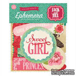 Высечки от Echo Park - Jack & Jill Girl Ephemera Pack, 33 шт