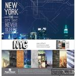 Набор скрапбумаги от Paper House - Paper Crafting Kit - New York City, 30 x 30 см - ScrapUA.com