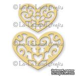 Лезвие La-La Land Crafts - Filigree Hearts