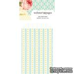 Конвертик Webster's Pages - Bulk Mini Bag Hearts: Yellow, размер 10х7 см, 1 шт. - ScrapUA.com
