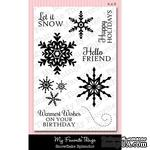 Акриловые штампы My Favorite Things - LJD Snowflake Splendor