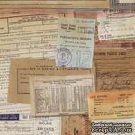 Ткань 100% хлопок - Tim Holtz Eclectic - Documentation-Neutral, 45х55 см - ScrapUA.com