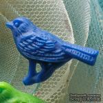 Украшение Webster's Pages - Whimsey Country Birds - Royal Blue, 1 шт. - ScrapUA.com